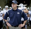 BYU Head Coach Bronco Mendenhall