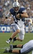 BYU quarterback Riley Nelson